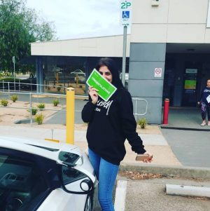 Christine- Need-for-ps-driving-school Passes The Driving Test