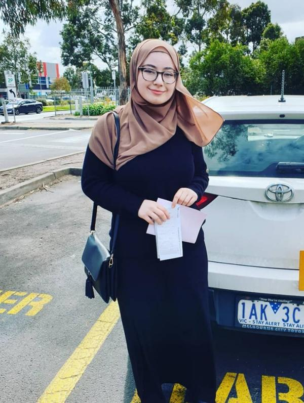 Jude passed her driving test 1st go at Broadmeadows vicroads
