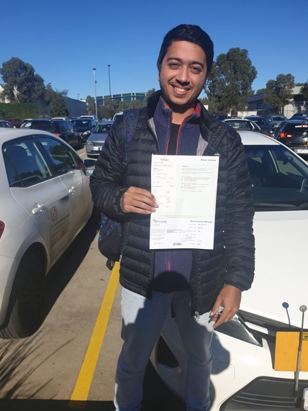 Kunal Wass Superb During His Driving Test