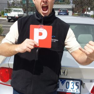 Mathew Passes the Driving Test