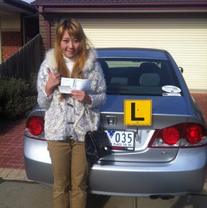 Michelle's New Licence