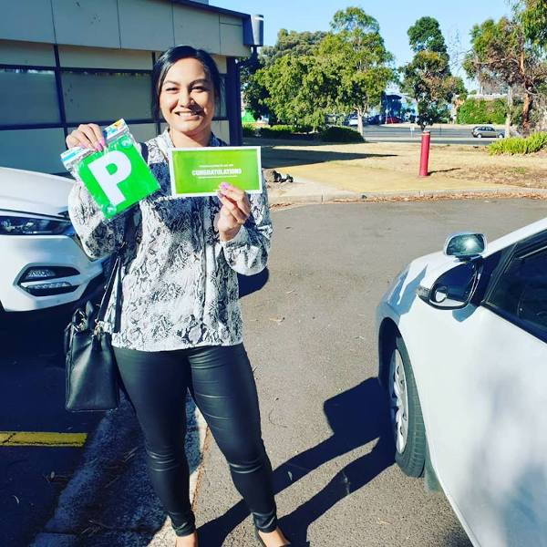 Nafu Passes The Driving Test With Ease
