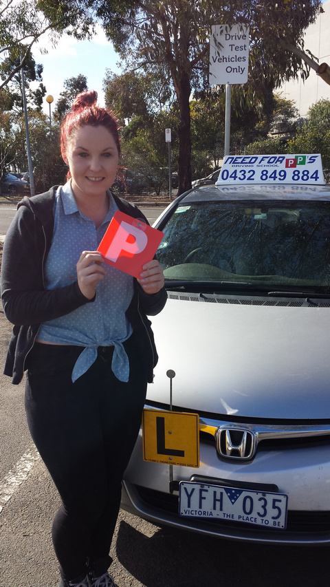 Rebecca Gets Her Drivers Licence