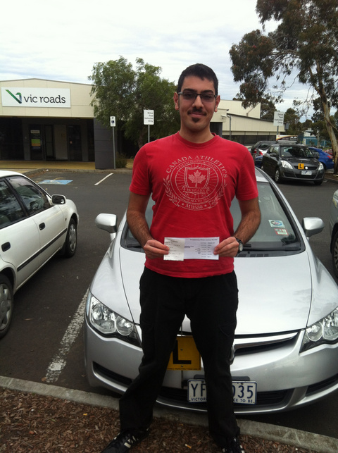 Samir Gets His Drivers Licence