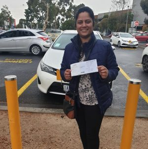 Shiala Passed Her Driving Licence Test