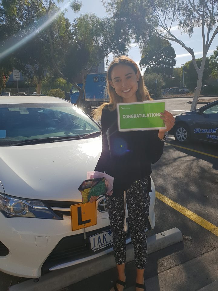 Congratulations Aisha on Your Driving Test