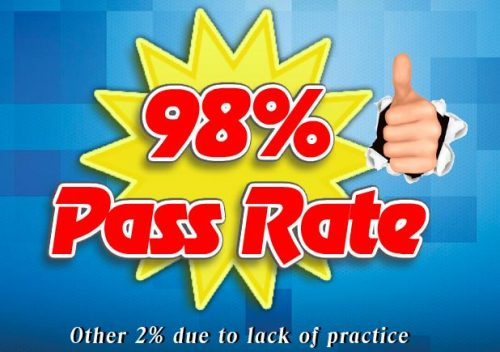 98% Pass Rate