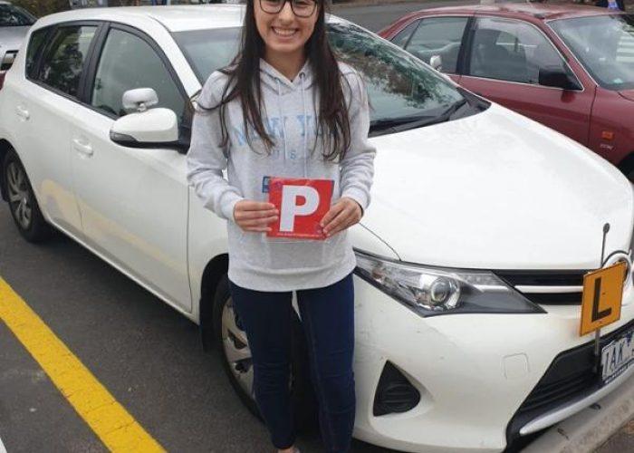 Filomena Passes The Driving Test