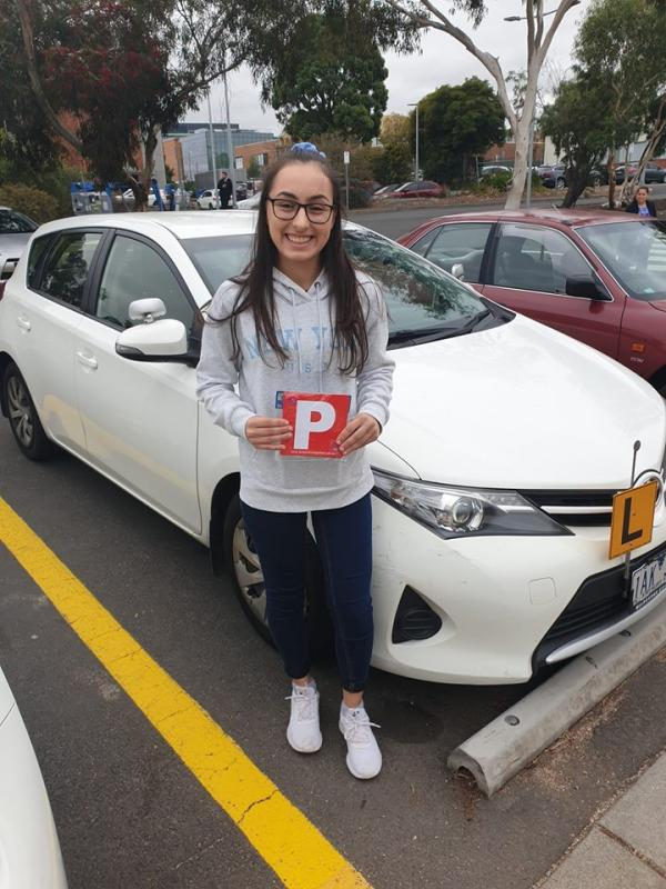 Filomena Passes The Driving Test