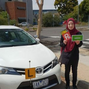Congratulation Hannah - Driving Test!