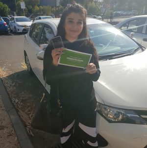 Nadine Passes the Driving Test