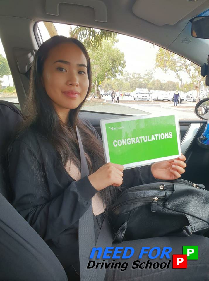 Congrats to Patricia for her Driving Test